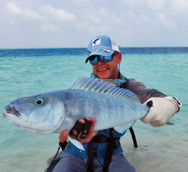 Fly Fishing for Jobfish