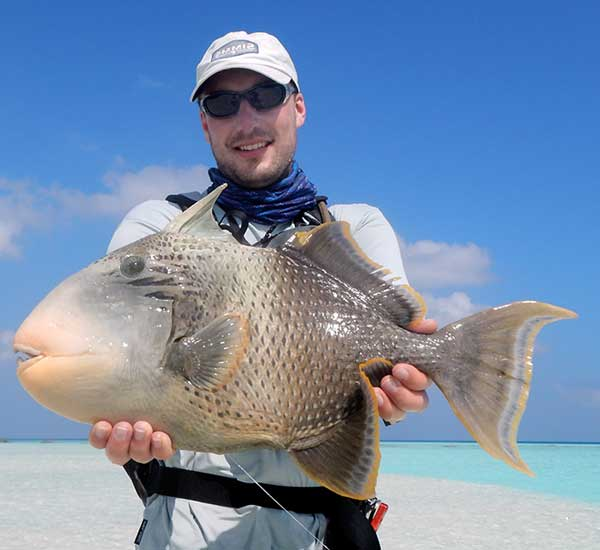 Fly Fishing for Triggerfish