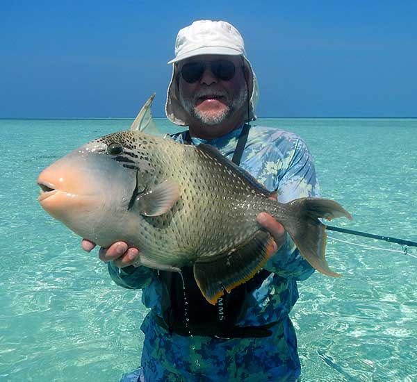 Fly Fishing for Titan Triggerfish