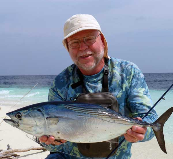 Fly Fishing for Skipjack Tuna