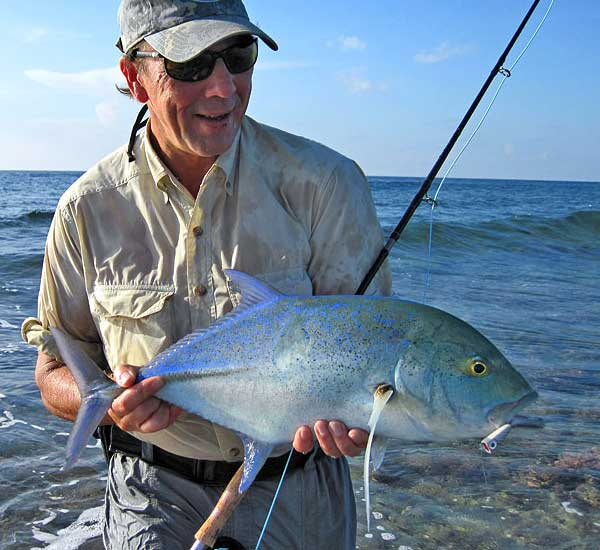 Fly Fishing in the Surf Zone