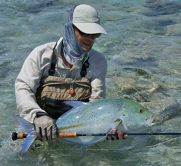 Fly Fishing for Trevally