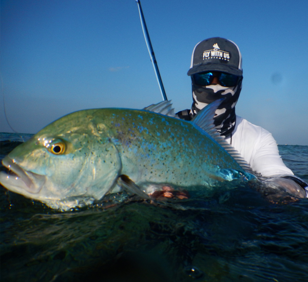 Fly Fishing for Bluefin Trevally