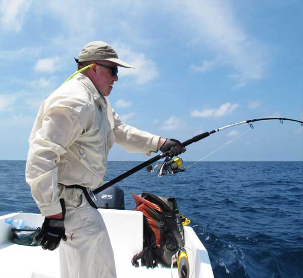 Popping for Giant Trevally, Snapper and Grouper.