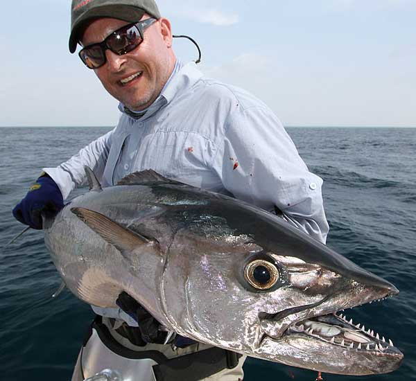 Spin Fishing for Wahoo, Sharks, Giant Trevally, Tuna, Snapper, Grouper in the Maldives.